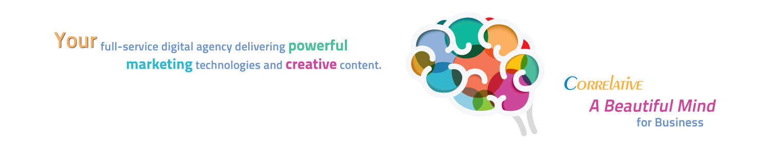 Correlative - Your full-service digital agency specializing in powerful marketing technologies and creative content